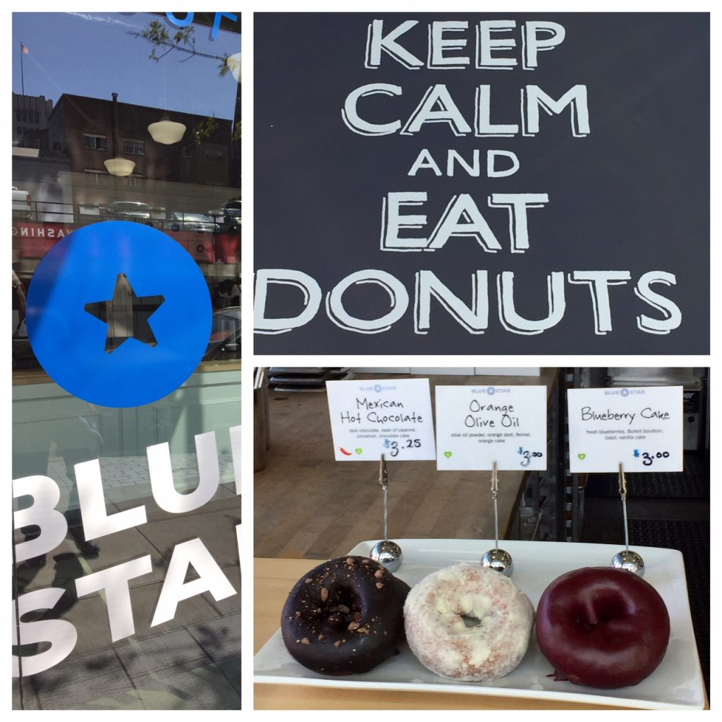 Blue Star Donuts; Gourmet Donuts; Artisan Donuts; Portland foodie; Oregon; boomer travel