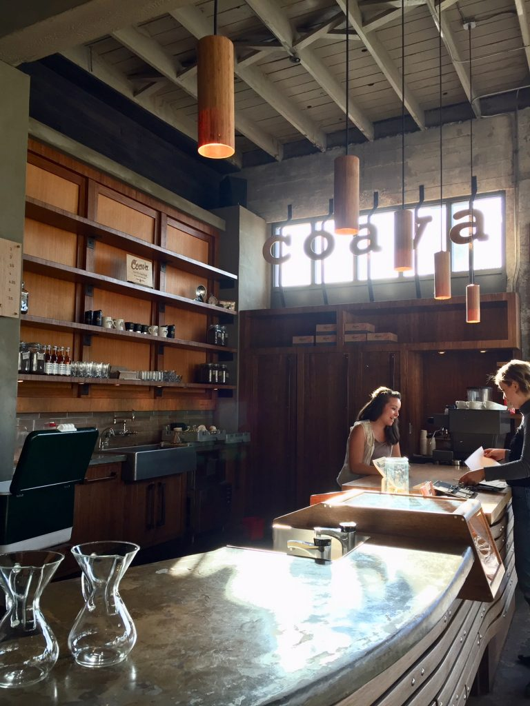 Coava Coffee Roaster; Portland coffee; Portland beverages