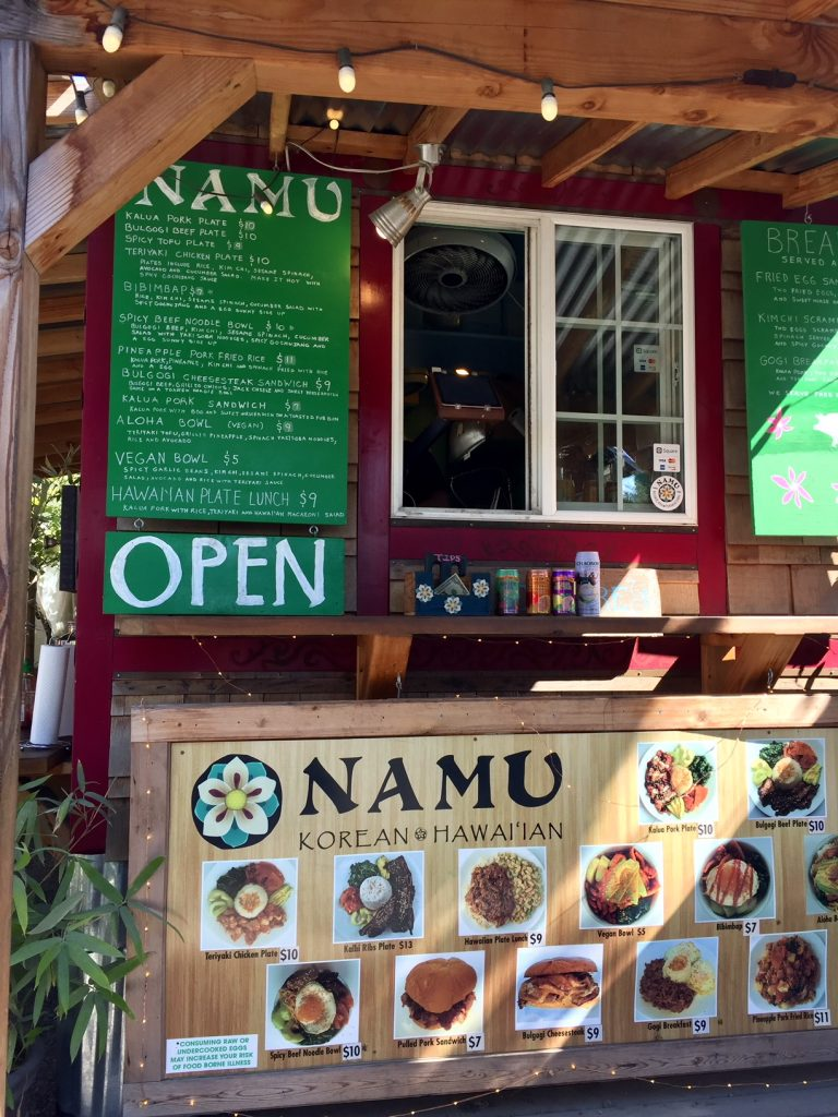 Namu; Portland Food Pods; street food; food trucks; foodie; Oregon