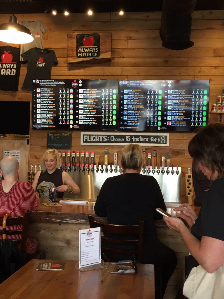 Portland Cider Tap Room; Oregon; cider on tap;PSU Farmers Market; Portland Farmers Markets; Portland; pdx; Travel Portland; #YouCanInPortland