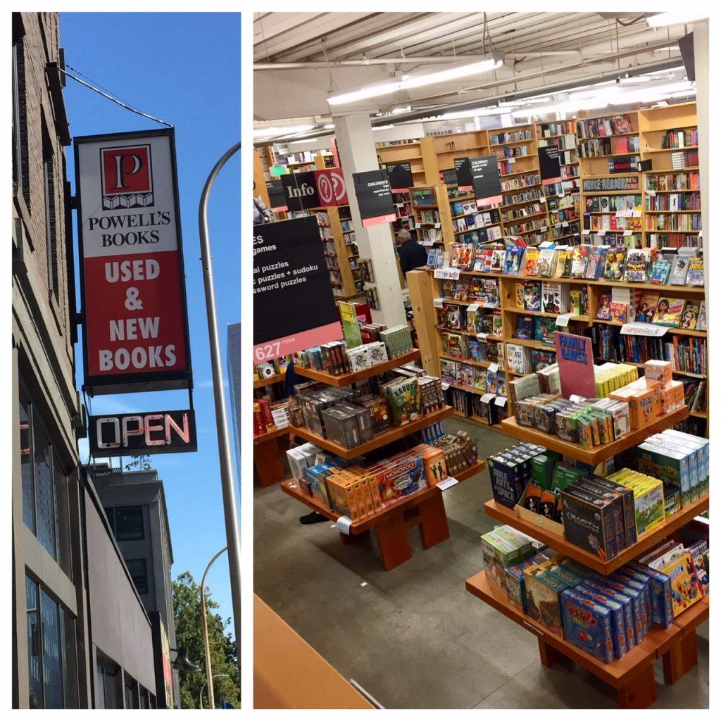 Powell's Books; largest bookstore in the world; books; Portland; Oregon; boomer travel