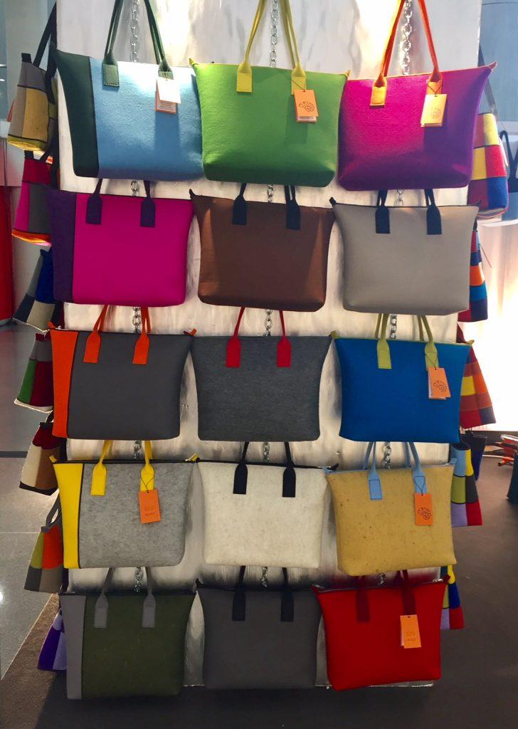 Rayerbags handbags; felt handbags; 2017 Gift Guide