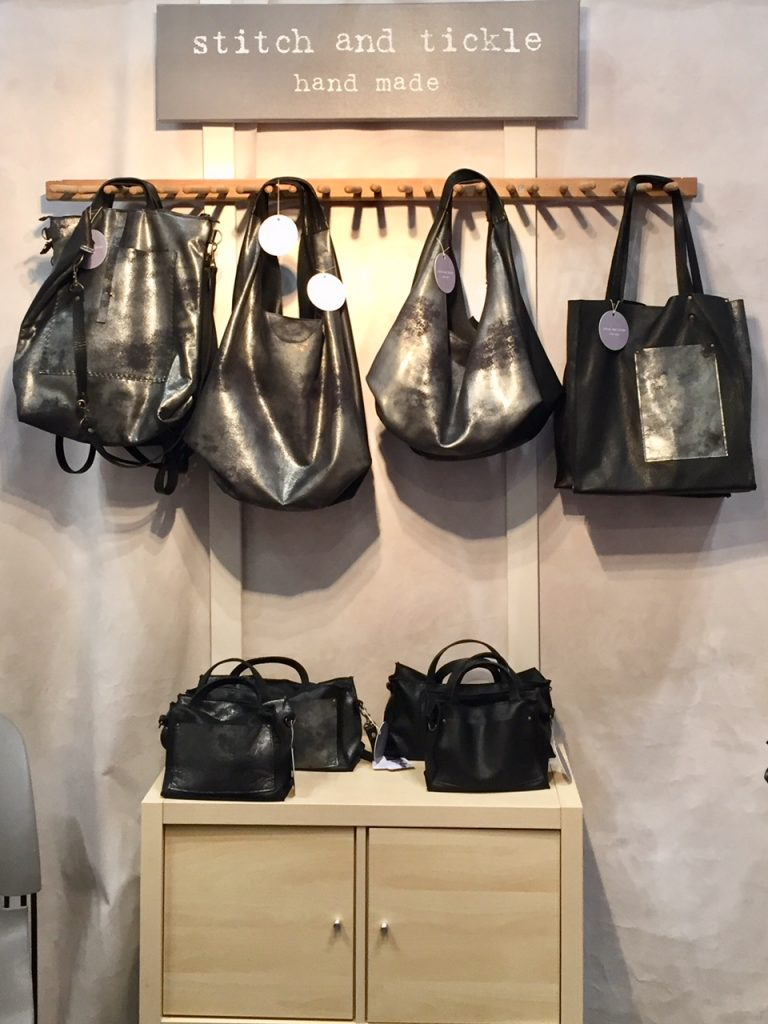 Stitch and Tickle handbags; 2017 Gift Guide