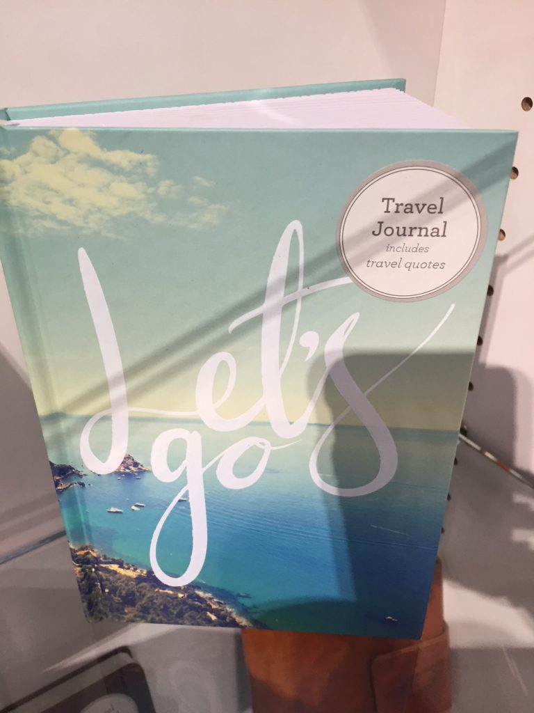 travel journals; 2017 Gift Guide