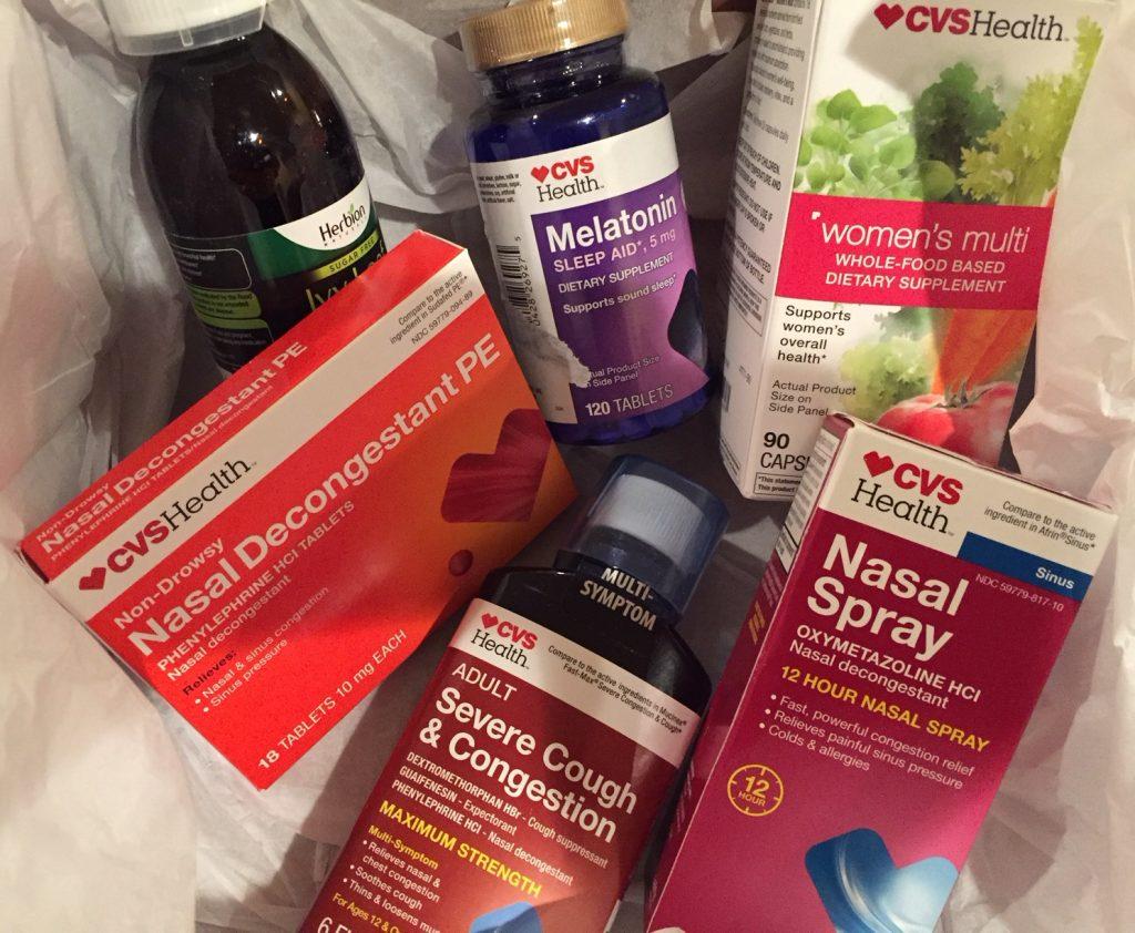 CVS Pharmacy; cold and flu prevention; melatonin, boomer wellness