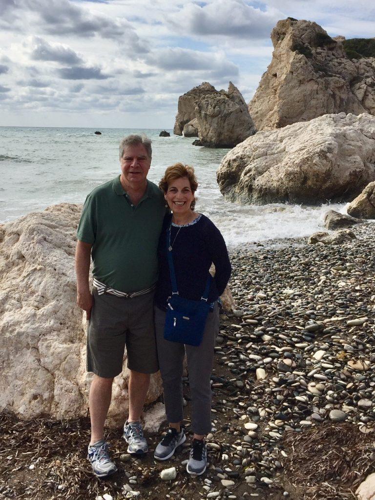 Aphrodite's Beach; Cyprus; Viking Ocean Cruises; Viking Star; boomer travel; luxury travel over 50