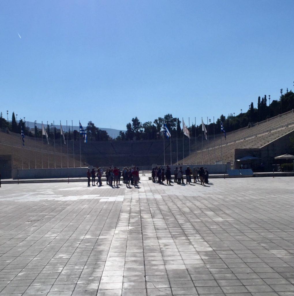 Athens Olympic Stadium; Athens; Greece; Viking Ocean Cruise