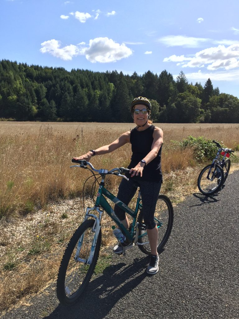 bicycle riding; VSP Vision Care; retirement