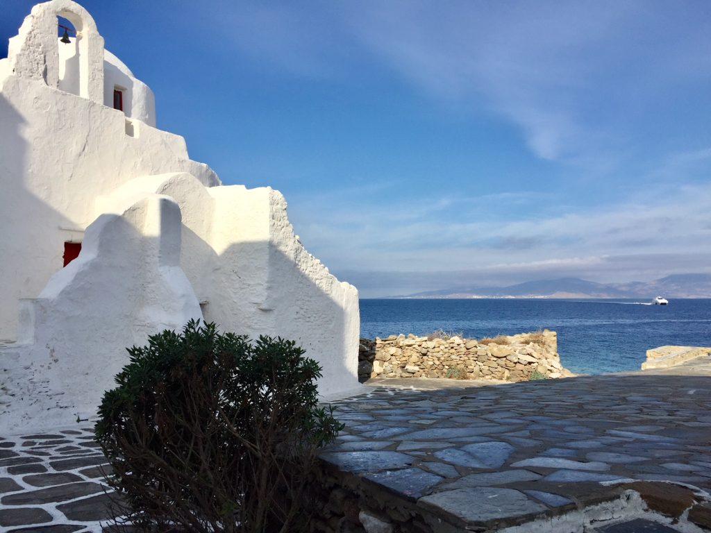 Mykonos; Greece; Viking Ocean Cruise; Viking Star; luxury travel; Panagia Paraportiani