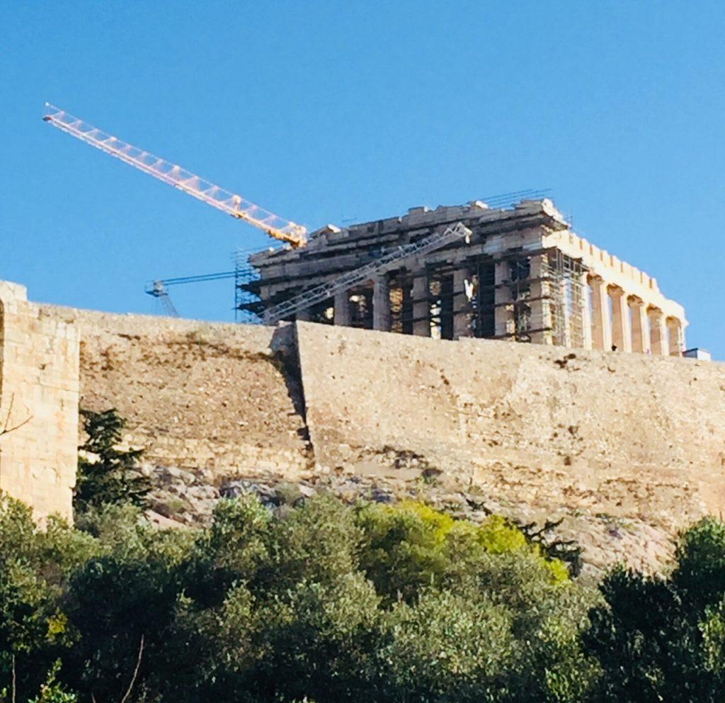 Acropolis; Athens; Viking Ocean Cruise; boomer travel