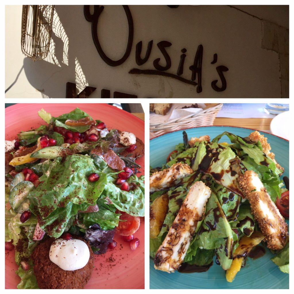 Limassol, Ousia cafe, haloumi cheese, falafel, Cyprus, Viking Ocean Cruise