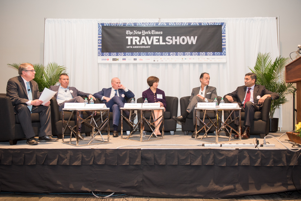 New York Times Travel Show 2018; travel