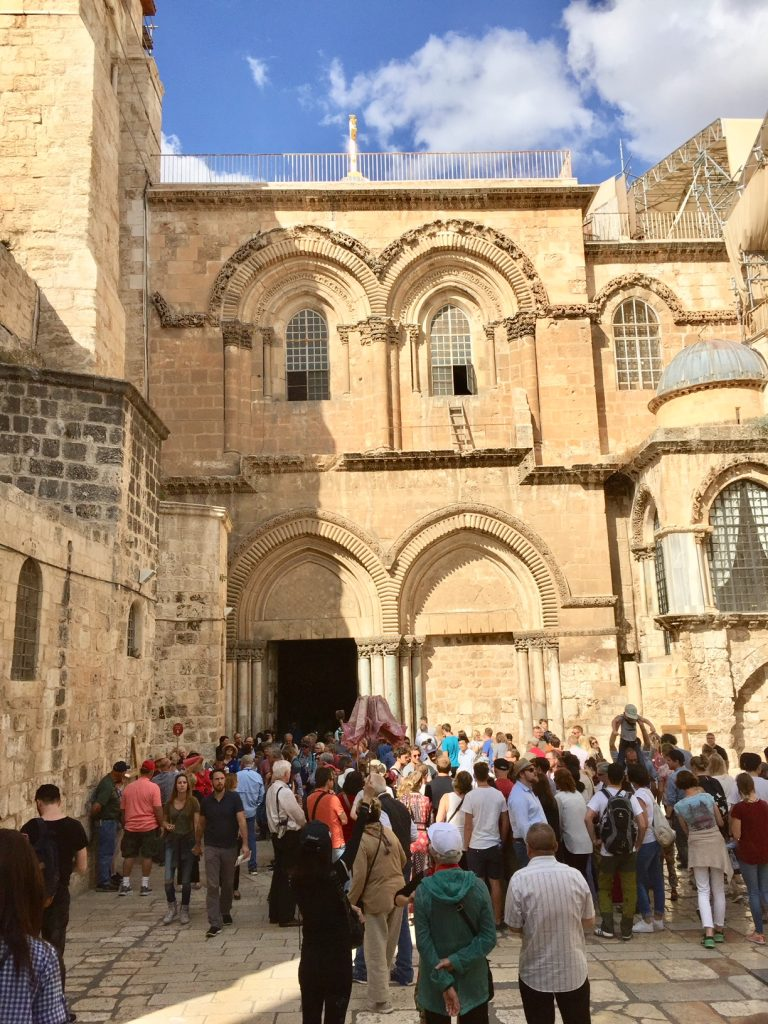 Church of the Holy Sepulchre; Old Jerusalem; Holy Land; Israel;Viking Ocean Cruise