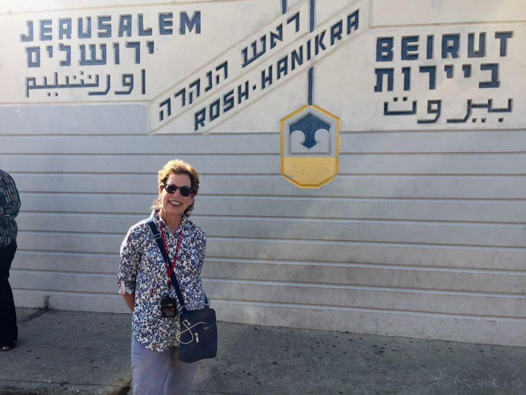 Lebanon border with Israel; Lebanon border; Haifa; Israel; Viking Ocean Cruises