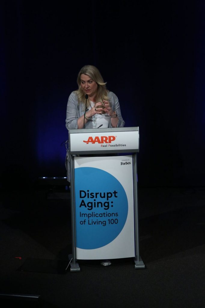 Cheryl Strayed; disrupt aging; connecting; #live100