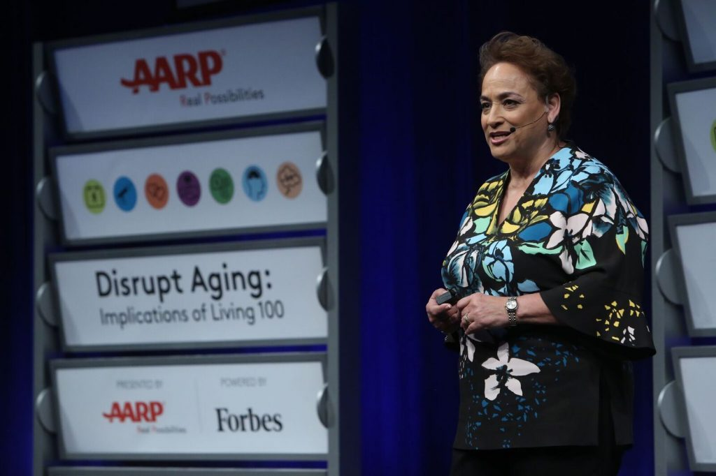 #disruptaging; AARP; Live 100; living to 100; aging; Jo Anne Jenkins; AARP CEO