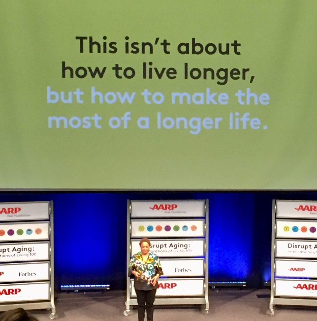 #disruptaging; Living 100; living to 100; linespace