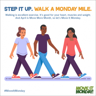 Monday Mile, AHA, #MoveItMonday