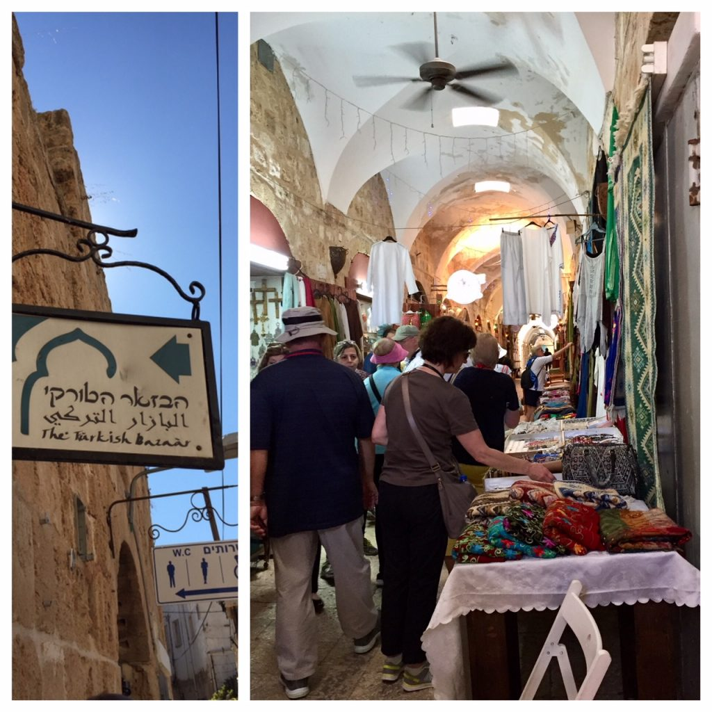 Viking Ocean Cruises; Israel; Ancient City of Acre; luxury cruises; Viking Star; The Turkish Bazaar in Acre