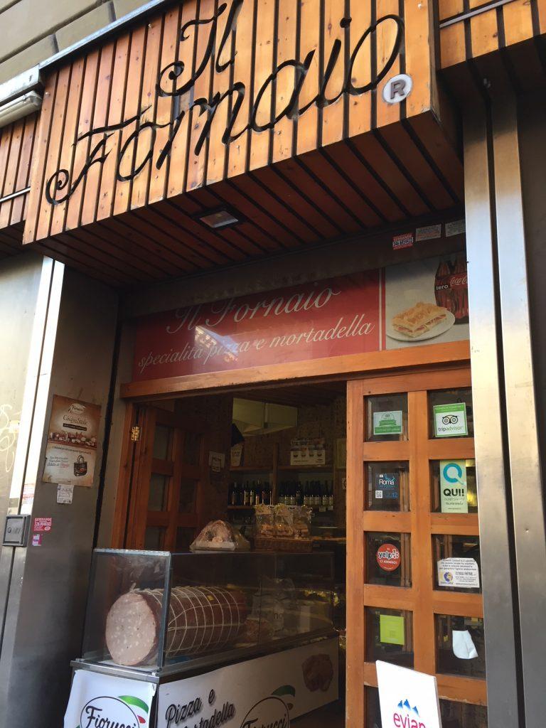 Il Fornaio bakery; Rome