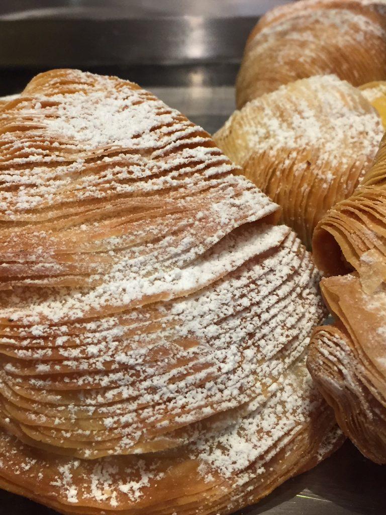 Sfogliatella pastries; Rome