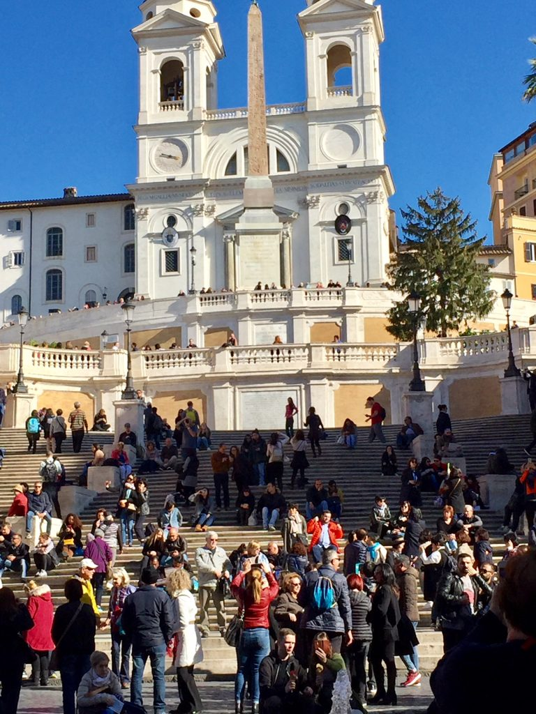 The Spanish Steps; Rome