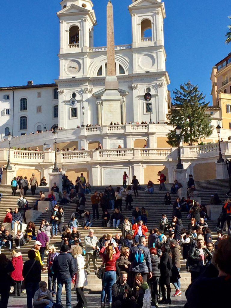 The Spanish Steps; Rome