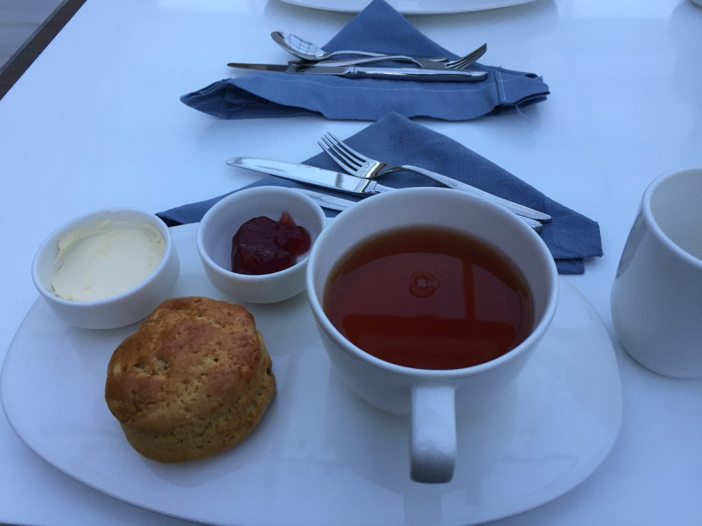 Viking Star afternoon tea