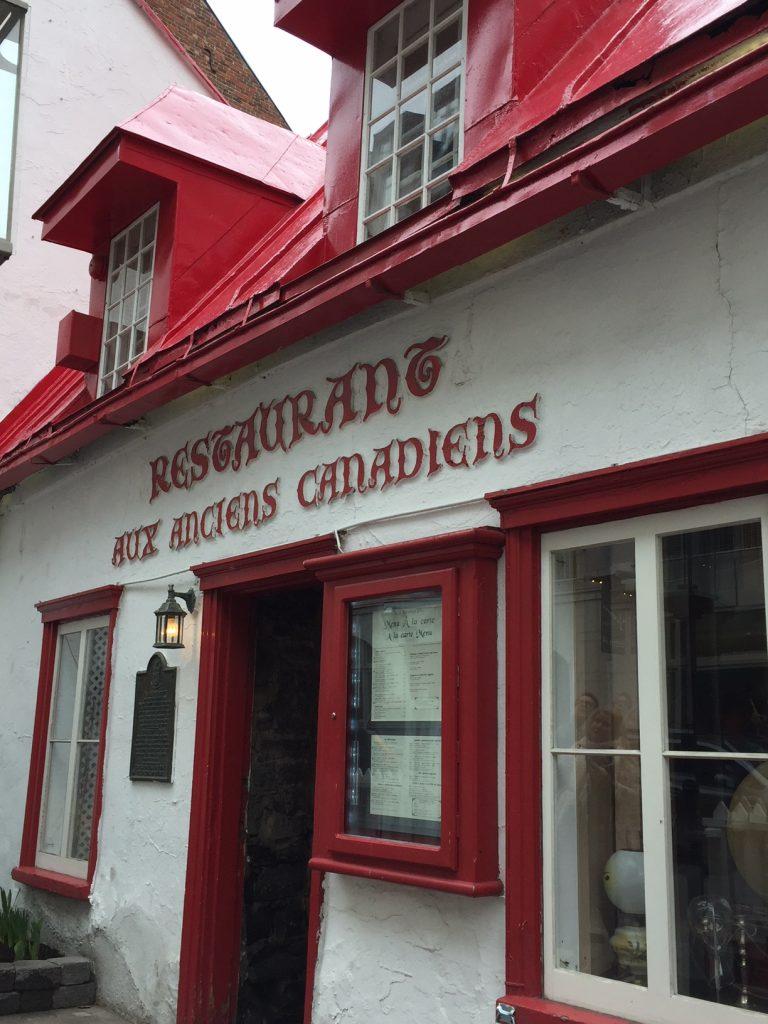 Aux Anciens Canadiens Restaurant; Old Quebec City; Quebec restaurants