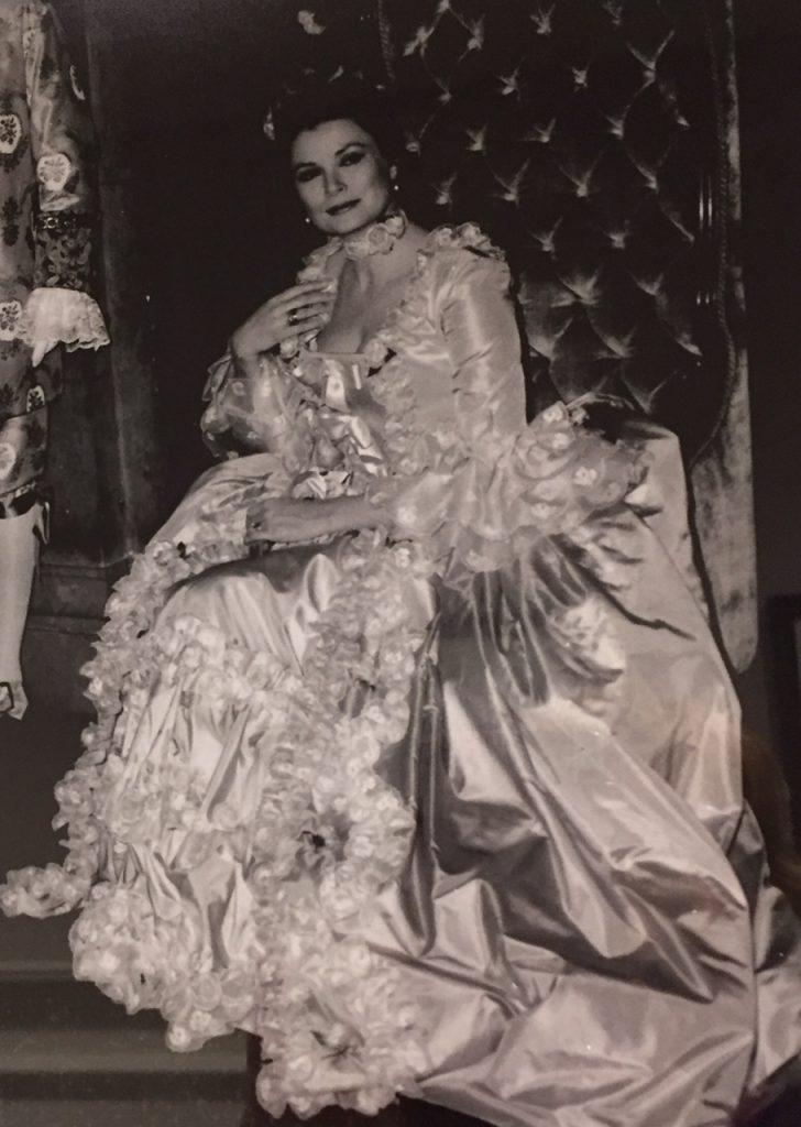 Princess Grace at Le Chateau Frontenac