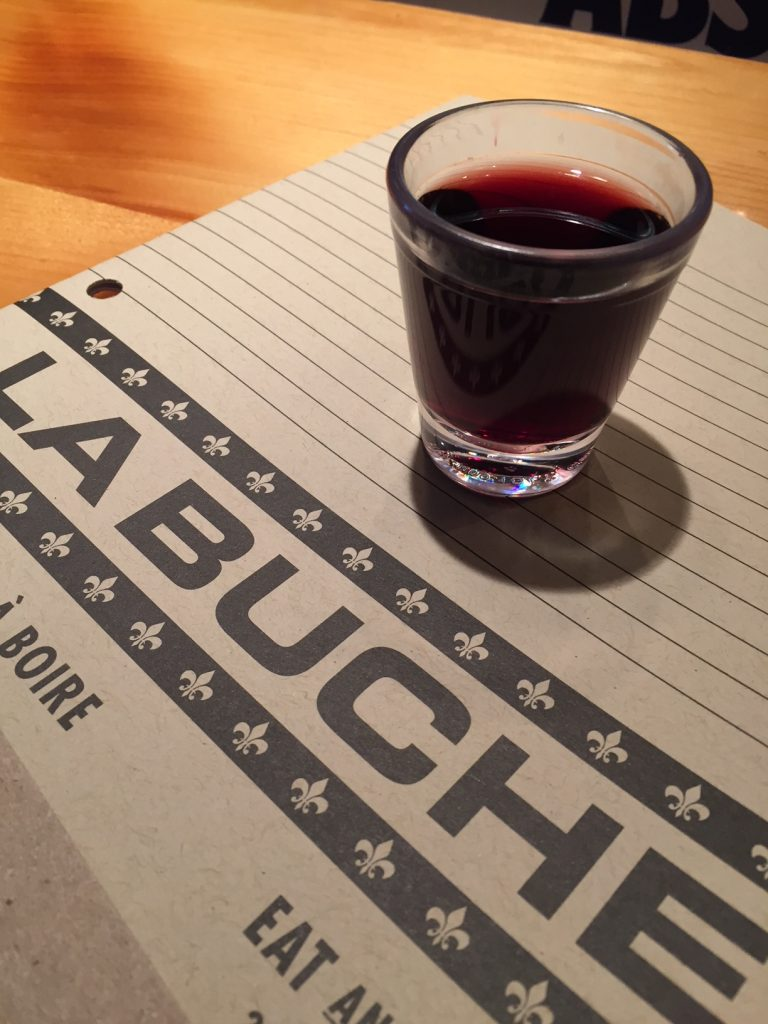La Buche; Old Quebec City restaurants; Quebec