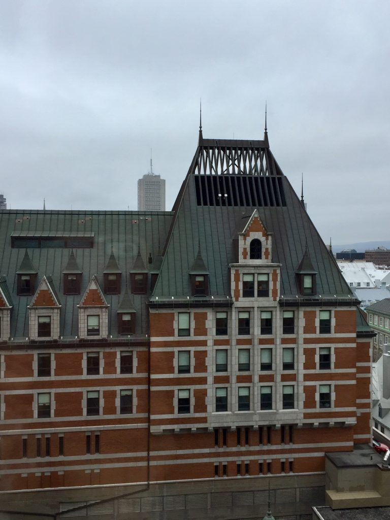 Fairmont Le Chateau Frontenac; Quebec City