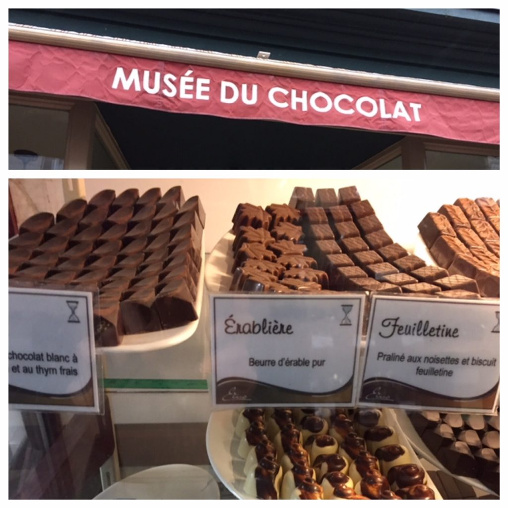 Musee Du Chocolat; Old Quebec City food tour