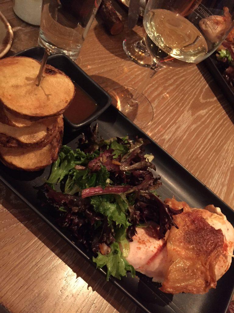 Tournebroche poulet; Old Quebec City restaurants