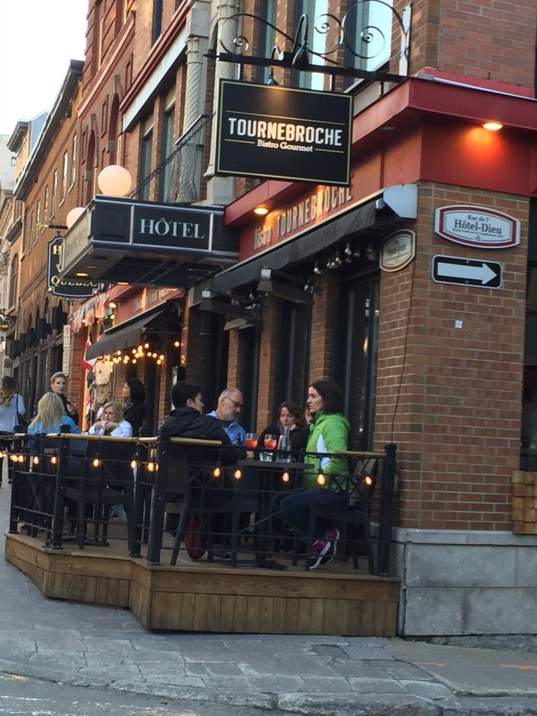 Tournebroche Restaurant; Old Quebec City restaurants; Quebec foods