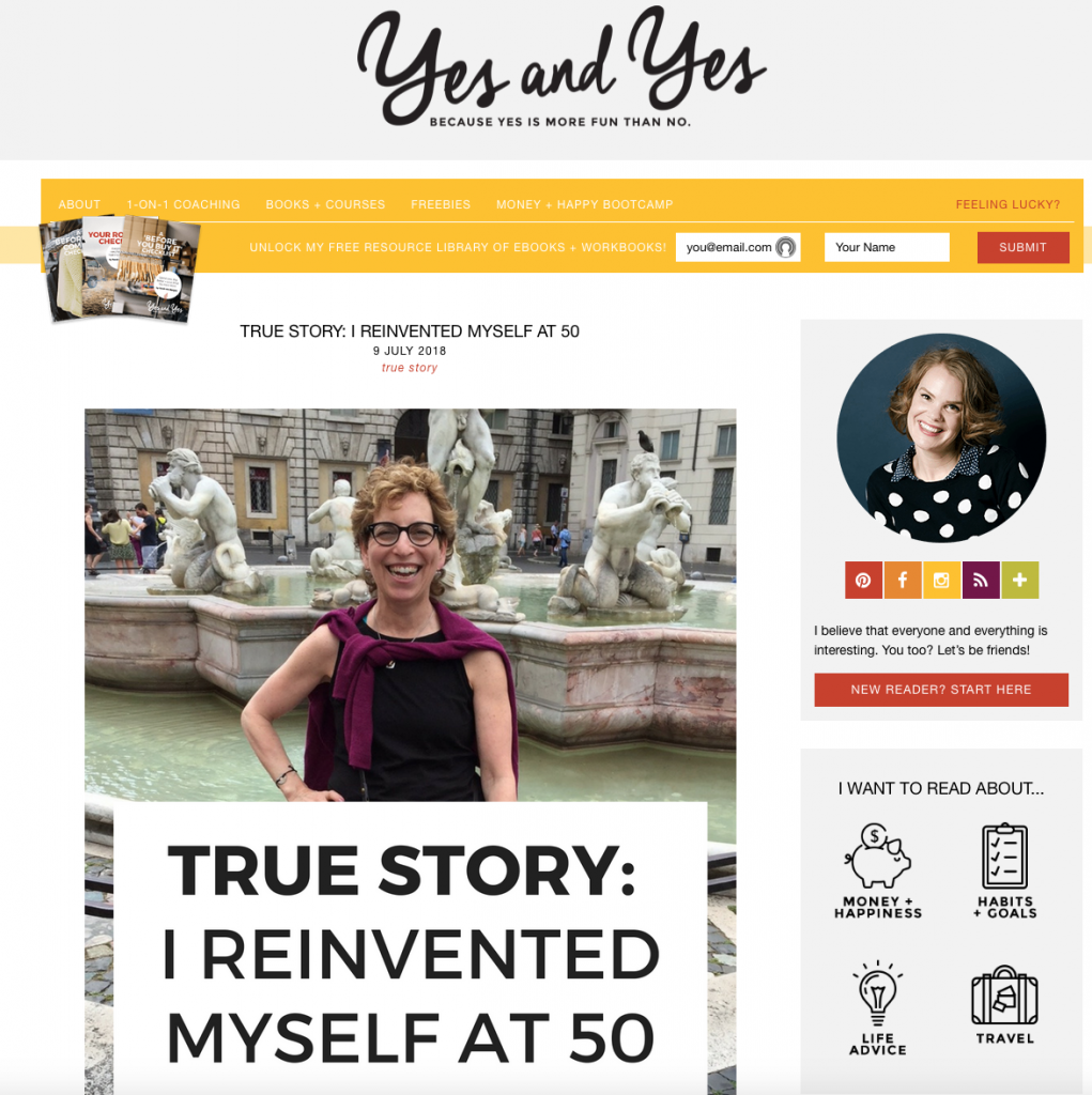 Yes and Yes Blog; SarahVon Bargen