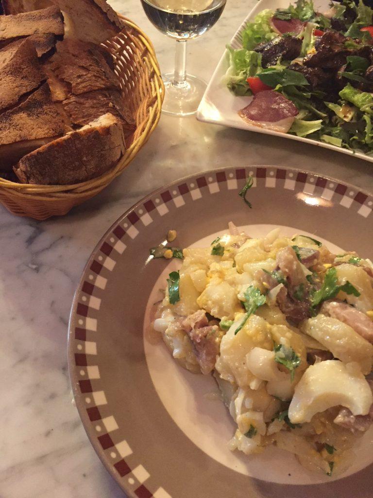 Lyon Bouchon salads