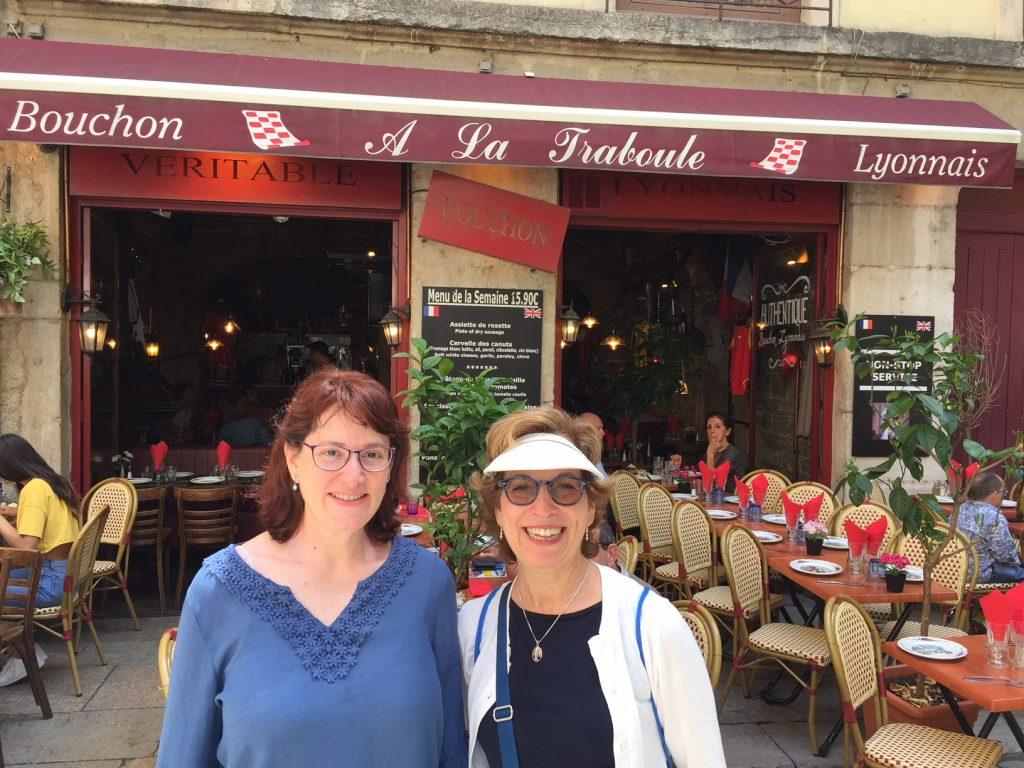 Bouchon in Vieux Lyon; bouchon