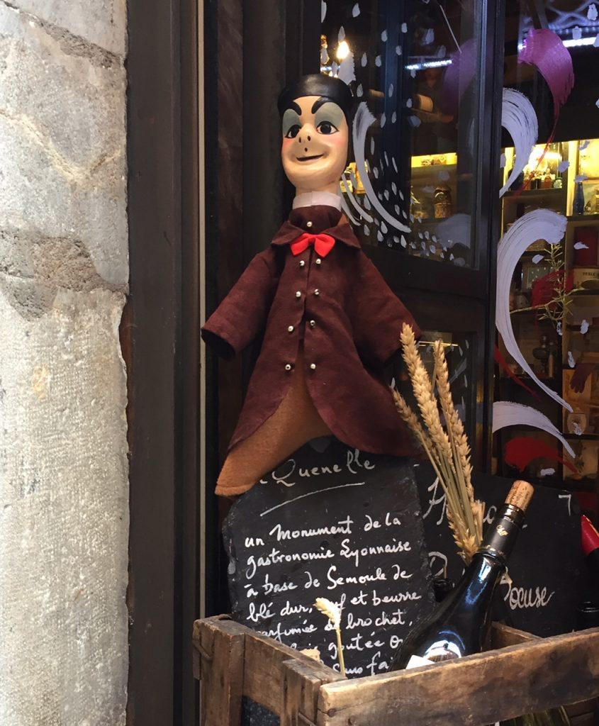 Lyon puppet Guignol