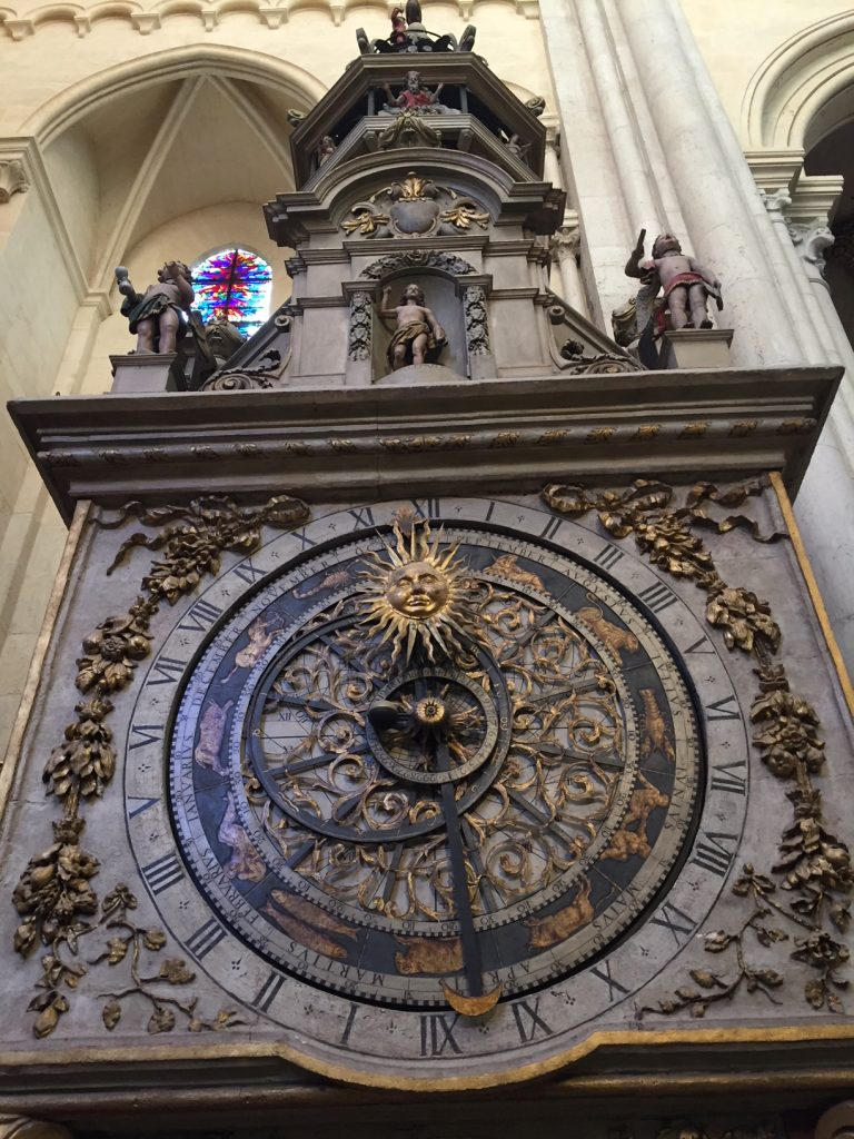 St. Jean Cathedral's Astrological Clock; St. Jean Cathedral; Vieux Lyon; Lyon France