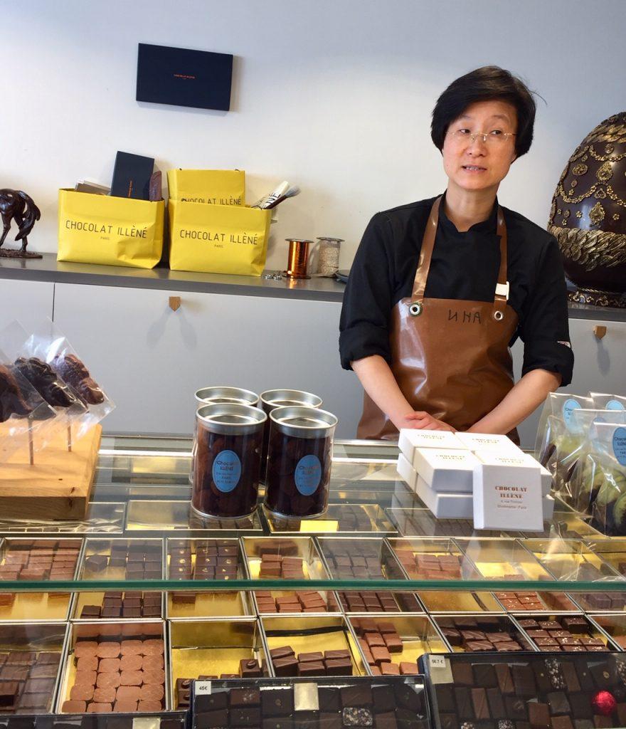 Chocolat Illèné in Montmartre