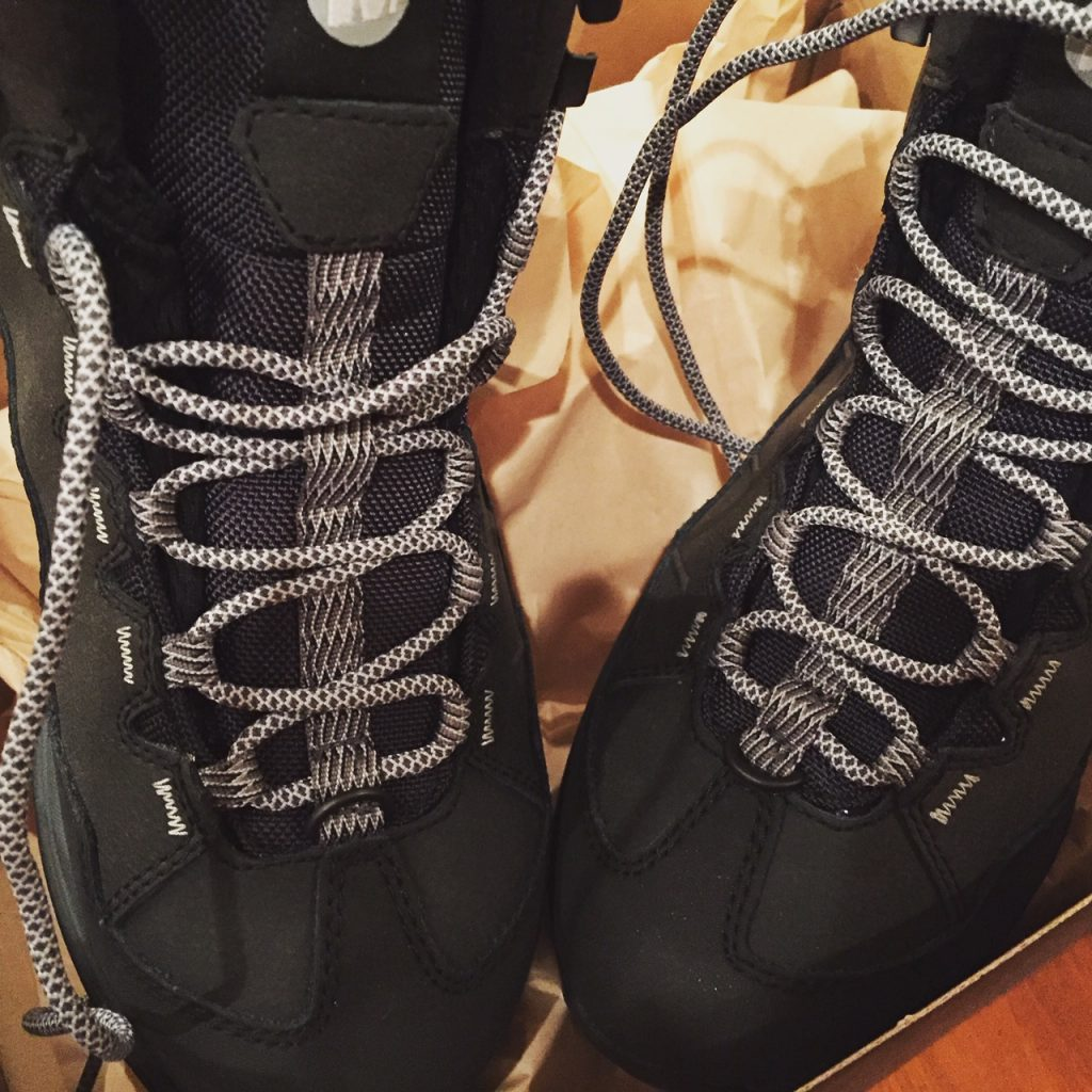 Merrell Waterproof hiking boots; packing for the Northern Lights of Finland Tour