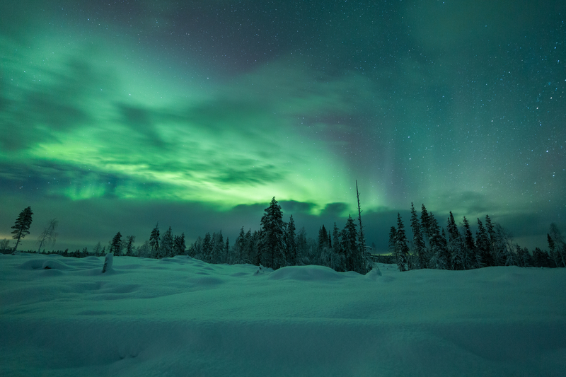 Collette Northern Lights of Finland Tour; Northern Lights