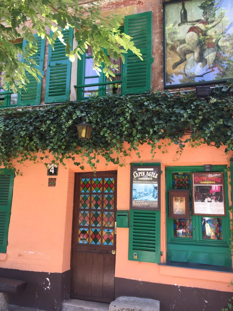 Pablo Picasso in Montmartre; Cabaret Au Lapin Agile
