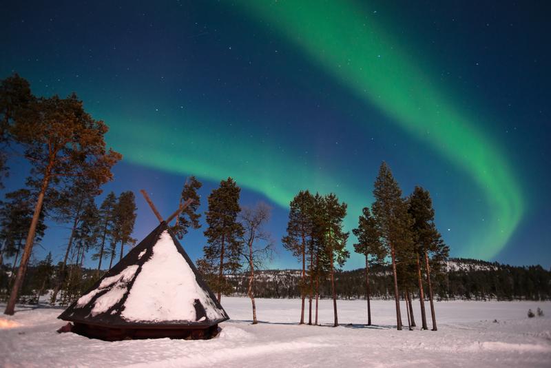 Northern Lights of Finland Tour; Aurora Borealis