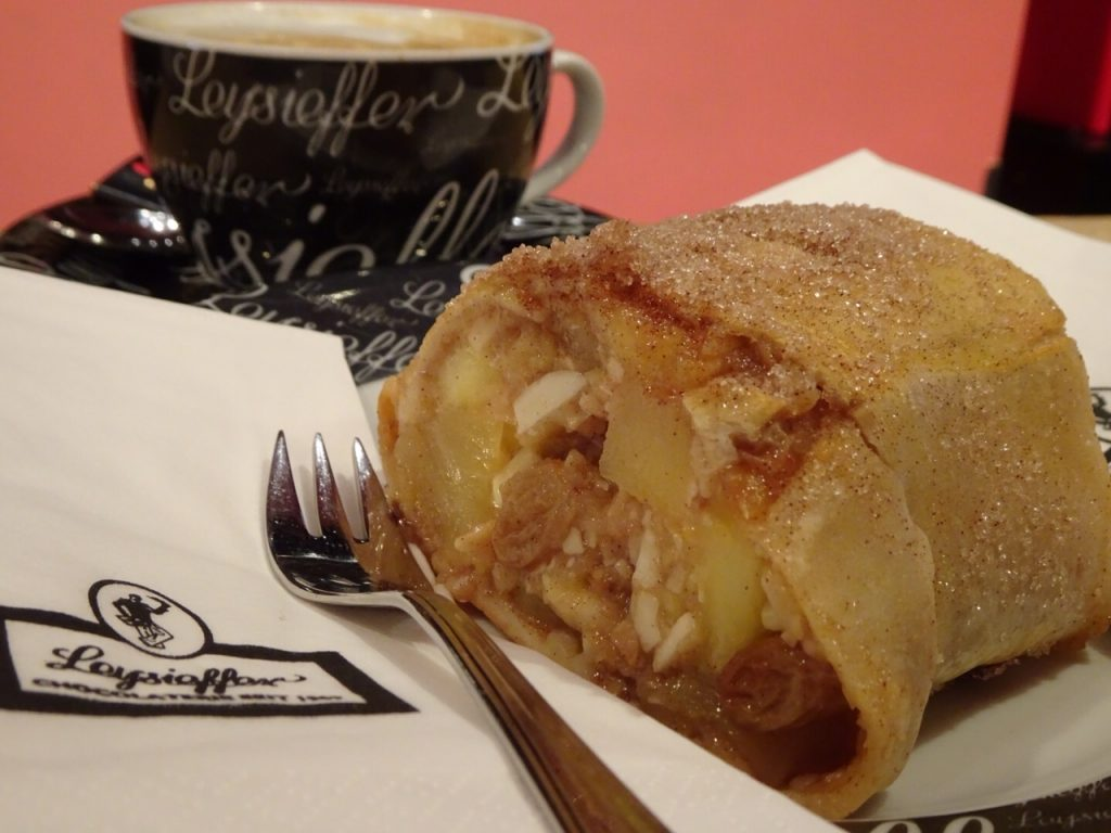 Apfel Strudel; German pastries