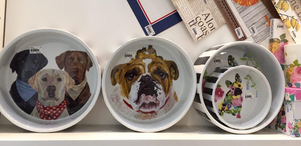 PDD dog bowls