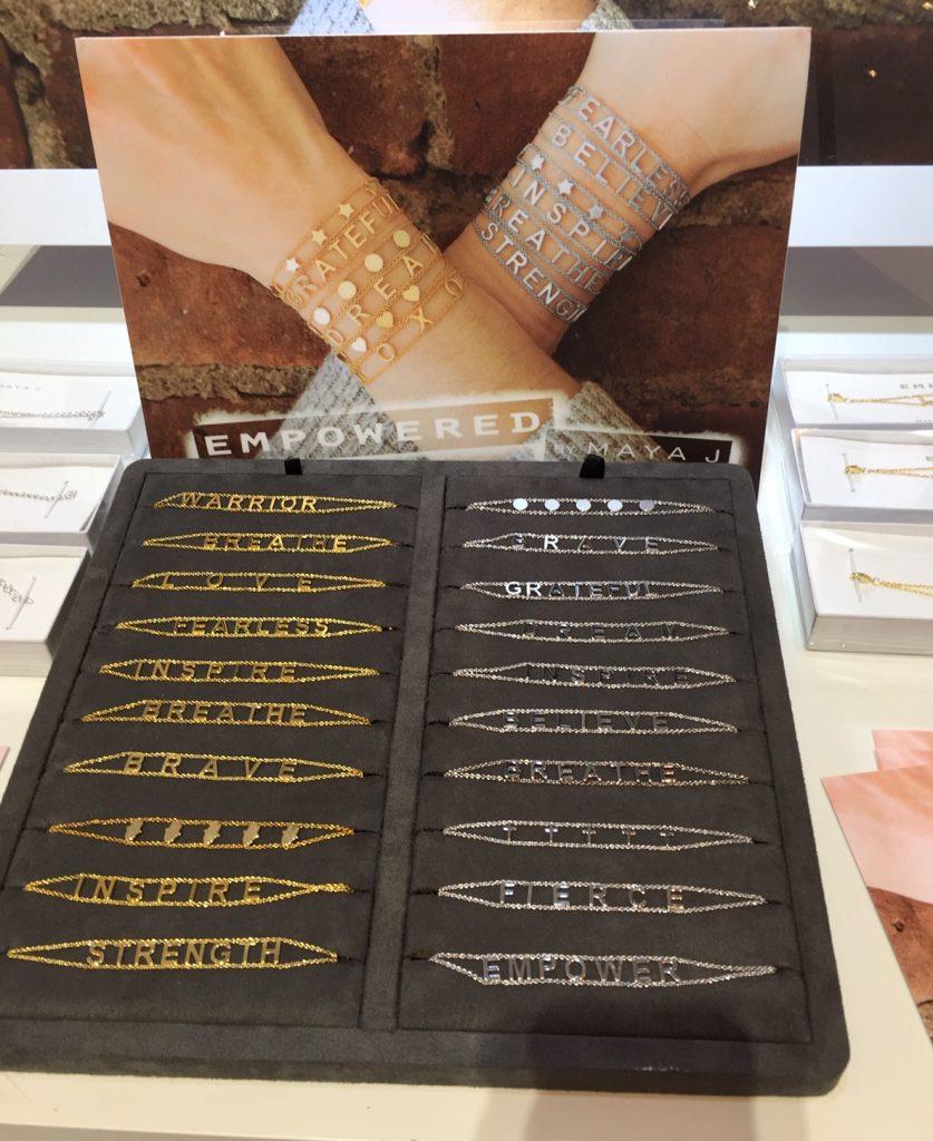Empowered bracelets