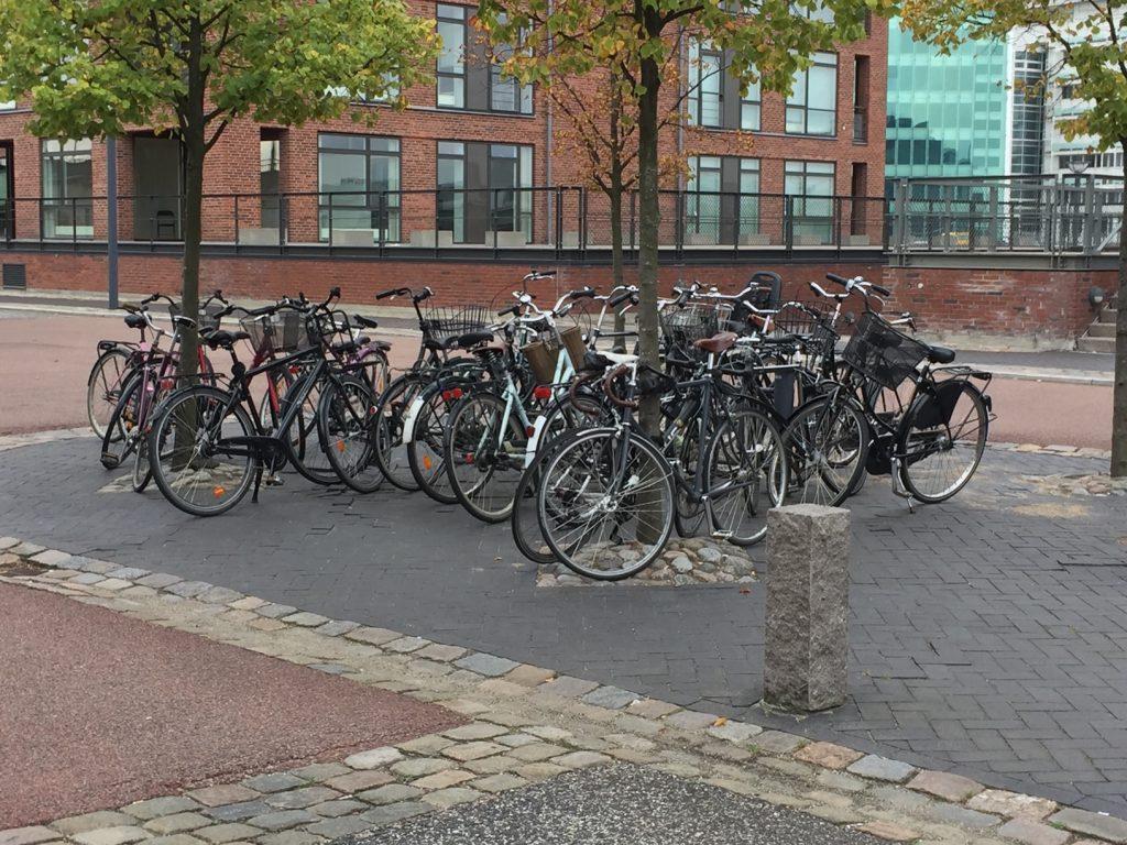 bicycle riding in Copenhagen