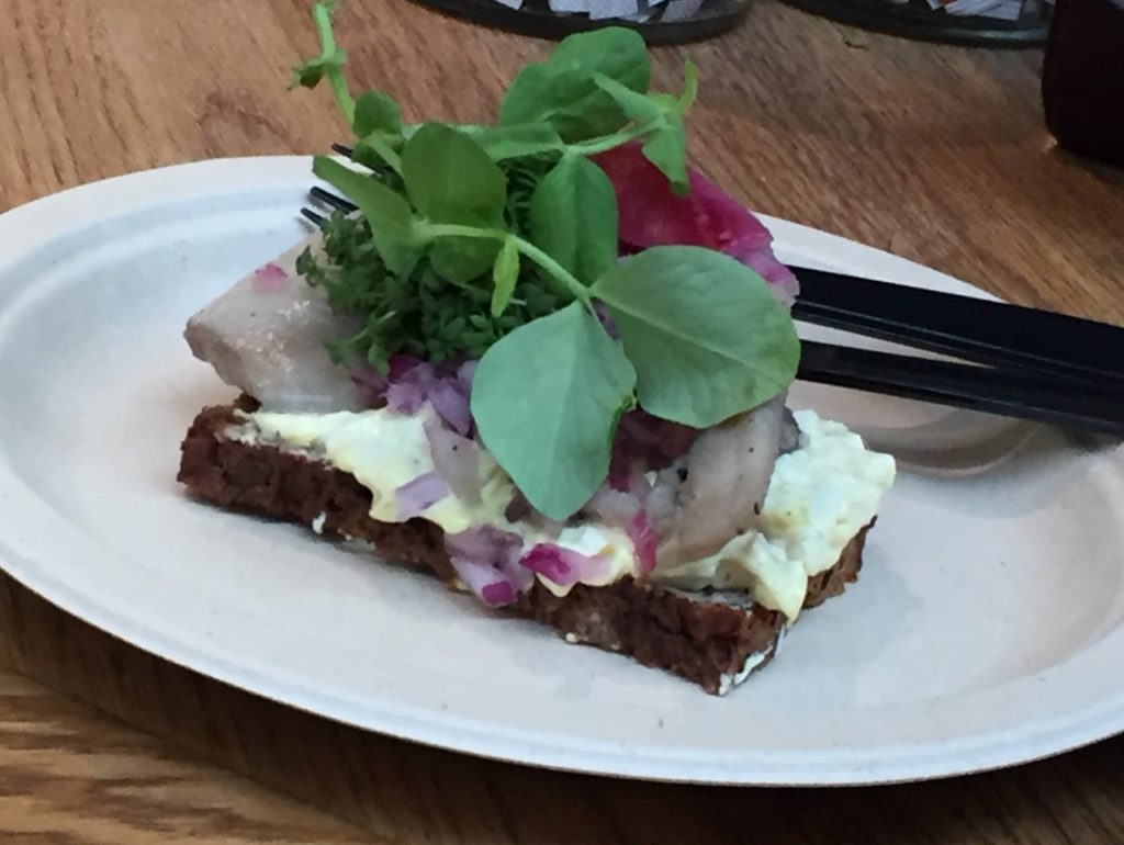 Danish herring; Copenhagen Food Tour